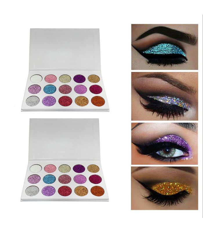Glamierre Unicorn Glitter Eyeshadow Palette